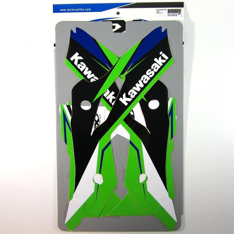 FACTORY EFFEX FX GREEN GRIPPER SEAT COVER MATERIAL KAWASAKI KX 65 85 100 125 250