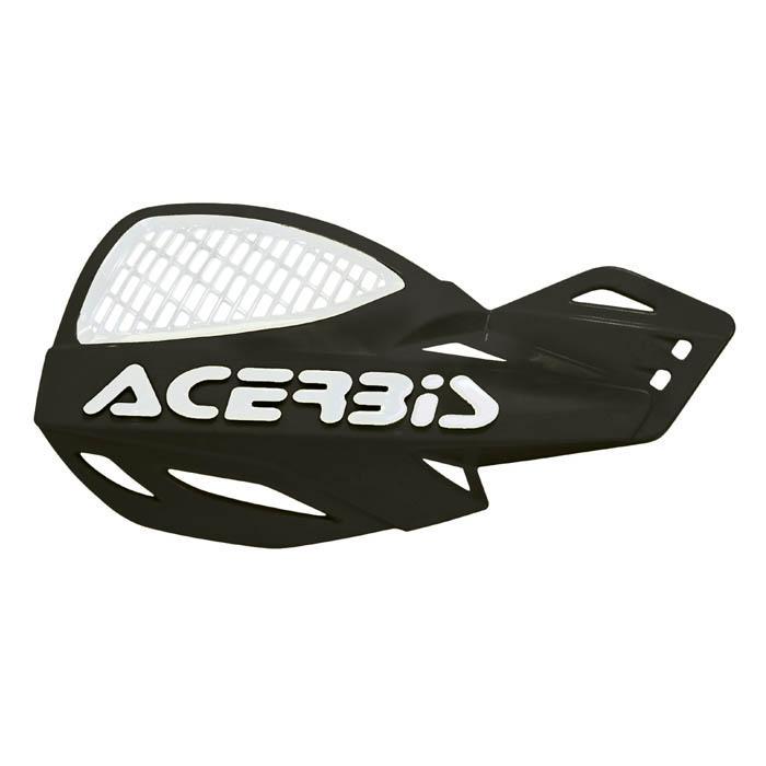Acerbis MX Uniko Vented Handguards w//Fitting Kit Red